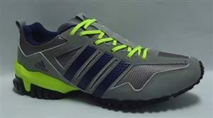 Tenis Adidas Aresta S - Cinza/Verde Limão