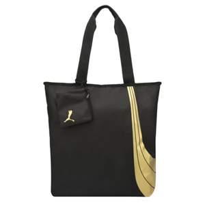Bolsa Puma Fundamentals Shopper W - Preto/Dourado