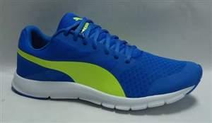 Tenis Puma Flex Racer BDP - Azul/Amarelo