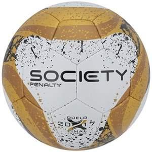 Bola Penalty Society VII Finais C/C - Branco/Dourado