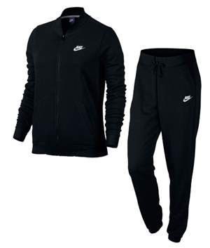 Agasalho Nike W NSW TRK SUIT FT W - Preto