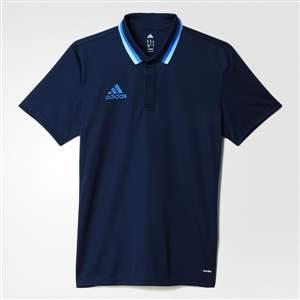 Camisa Adidas Polo Condivo 16 - Marinho/Azul
