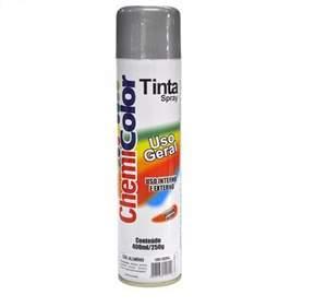 Tinta Spray Aluminio Uso Geral 400ml Chemicolor