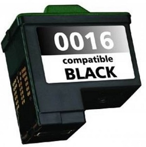 Cartucho 16 preto Lexmark Compatível