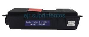 Toner para Kyocera TK17 TK18 TK100 FS1018MFP FS1118D KM1500 KM1500LA compatível