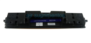 Cilindro HP CE 314A Compatível, CP1021-1022-1025-1025nw-1026nw-1027nw1028nw-M175a-LBP7010C, LBP7018C, hp M175a