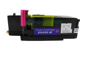 Toner para Phaser 6000 6010 6015, Magenta compatível