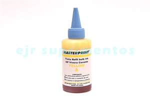 Tinta hp amarelo bulk ink corante 100ml para hp 920, 940, 933, 935, 951, 670, 655, 685, 9388, 9387, 9386