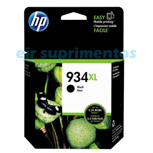 Cartucho HP 934XL  C2P23AL preto