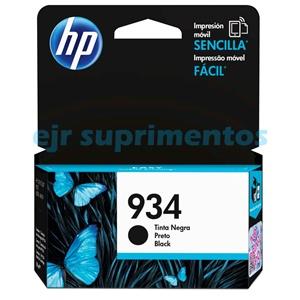 cartucho HP 934 C2P19AL Preto