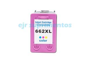 HP 662XL colorido compatível