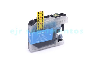 Cartucho LC103 azul para impressora J4310, J4410, J4510, J4610, J4710 brother compatível