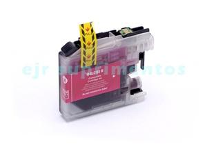 Cartucho LC103 magenta para impressora J4310, J4410, J4510, J4610, J4710 brother compatível