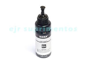 tinta para impressora epson 100ml preto corente