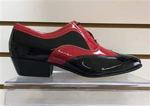 PA-3  Sapato Preto e Vermelho