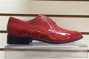 PA-7 Salto normal - Sapato Vermelho verniz