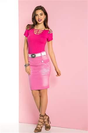 Saia Pink Tropical - REF 12675