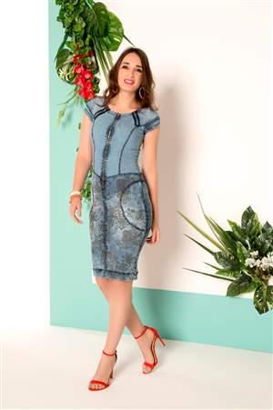 Vestido Flores Lindas   - REF 13230