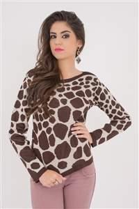 Blusa Girafa