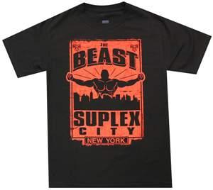 """Camiseta WWE Brock Lesnar """"Go To Hell Tour: NYC"""" ORIGINAL Frete Grátis"""
