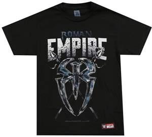"Camiseta WWE Roman Reigns ""Roman Empire"" ORIGINAL Frete Grátis"