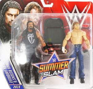 Roman Reigns & Dean Ambrose WWE Pack ORIGINAL Frete Grátis