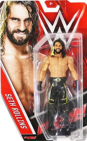 Seth Rollins WWE Basic 63 ORIGINAL Frete Grátis