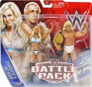 Charlotte & Ric Flair WWE Pack 41 ORIGINAL Frete Grátis