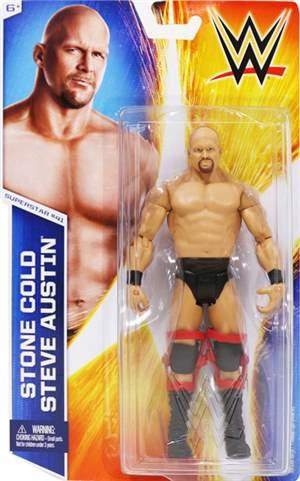 Stone Cold Steve Austin WWE Basic 51 +BRINDE ORIGINAL Pronta Entrega