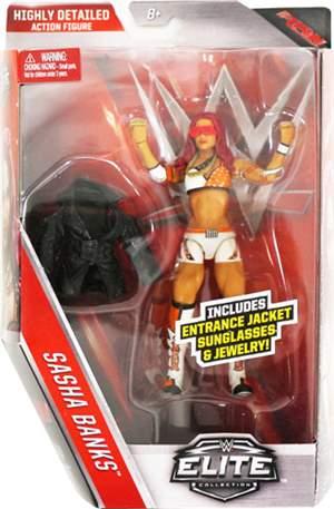 Sasha Banks WWE Elite 44 ORIGINAL Frete Grátis