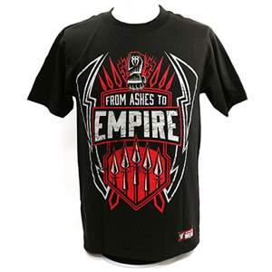 """Camiseta WWE Roman Reigns """"From Ashes To Empire"""" ORIGINAL Pronta Entrega"""