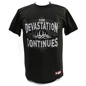 "Camiseta WWE Goldberg ""Devastation Continues"" ORIGINAL Pronta Entrega"