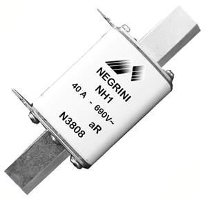 Fusível NH1 40A 690V ultra rápido N3808