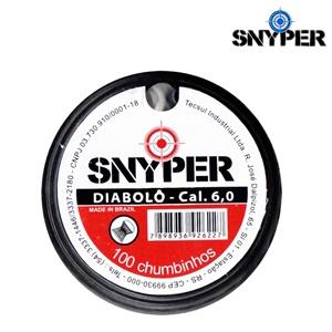 Chumbinho Snyper 6.0mm c/ 100 un.
