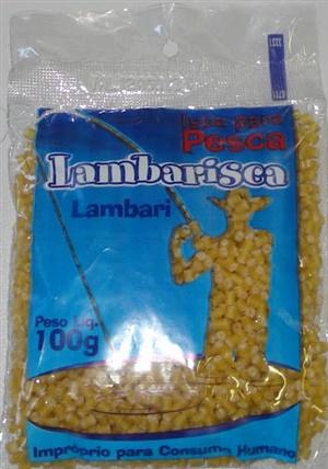 Macarrão Pronto Lambari Lambarisca (CRU) 100 gr.