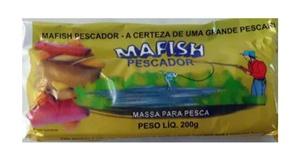Massa Mafish Pescador (Fididinha) - Pacote c/ 200g.