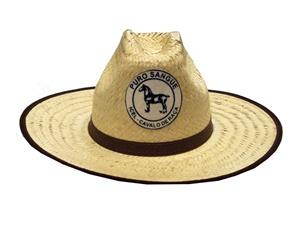 Chapéu Esmeralda Texano c/ Emblema - c/ 1 un.