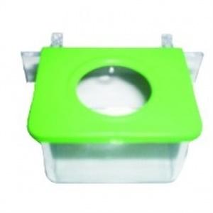 Comedouro 1 Jel Plast Furo Cristal - Mod: 200 c/ 1 un.