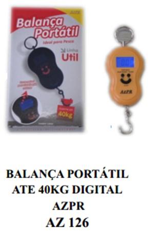Balança para Pesca Digital 40 kg - Mod: AZ 126