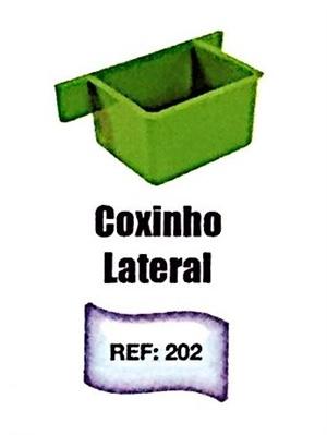 Coxinho Jel Plast Lateral - Ref. 202 c/ 1 un.