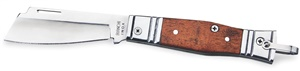 "Canivete Tradic. Biachi Alum./Mad. 3 1/4"" c/ 1 un."