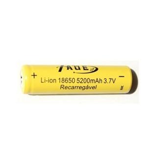 Bateria Taue Recarregável Média - 18650 c/ 1 un.
