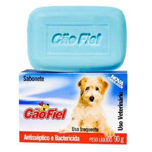 Sabonete Antisséptico Cão Fiel 90G c/ 1 un.