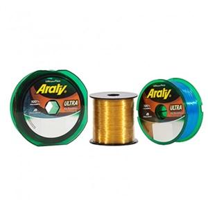 Linha Mazzaferro Araty Ouro 100M - 0,50mm - Caixa c/ 10 carretéis.