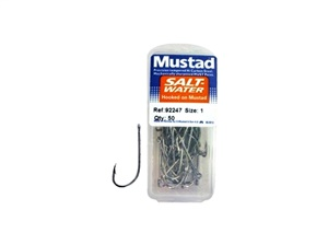 Anzol Mustad 92247 - Caixa com 50 unidades