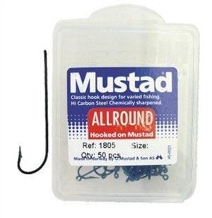 Anzol Mustad 1805 - Caixa com 50 unidades