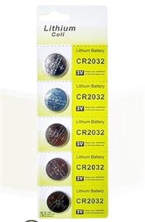 Bateria de Lítio para Bóia Luminosa - Cartela com 05 unidades