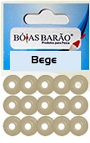 Miçanga Barão Bege 042 c/ 15 unidades