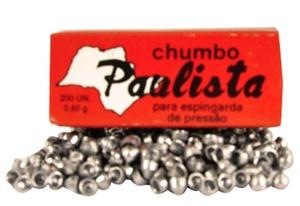 Chumbinho Paulista 4,5mm  - Caixa c/ 200 un.