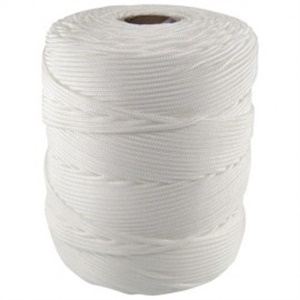 Corda Rodocordas Trançada Pet Branco - Várias Espessuras c/ 01 un por Kilo